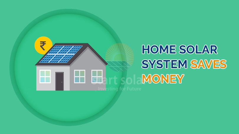Home Solar System Saves Money