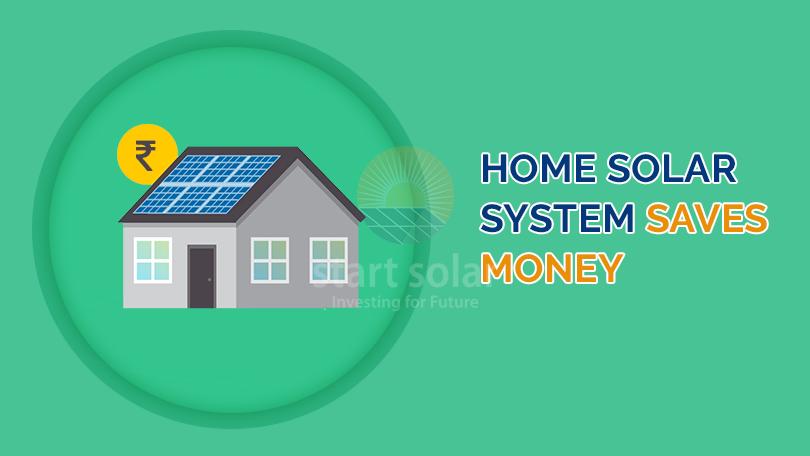 Home Solar System Saves Money