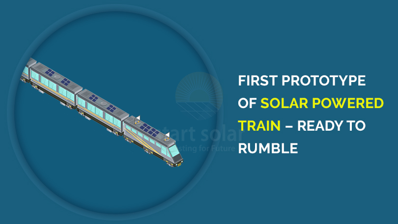 First Prototype of Solar Powered Train – Ready to Rumble