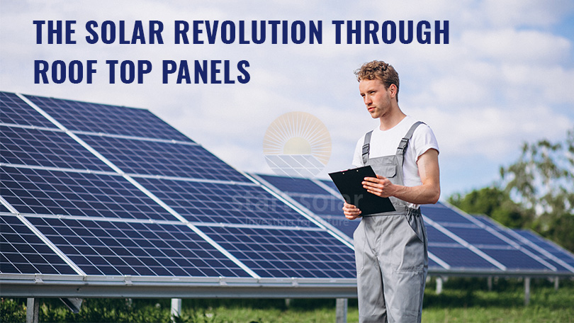 The Solar Revolution through Roof Top Panels