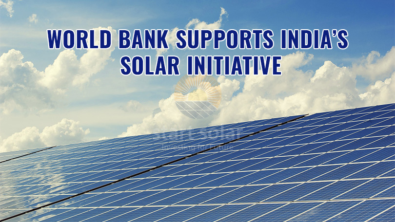 World Bank Supports India's Solar Initiative